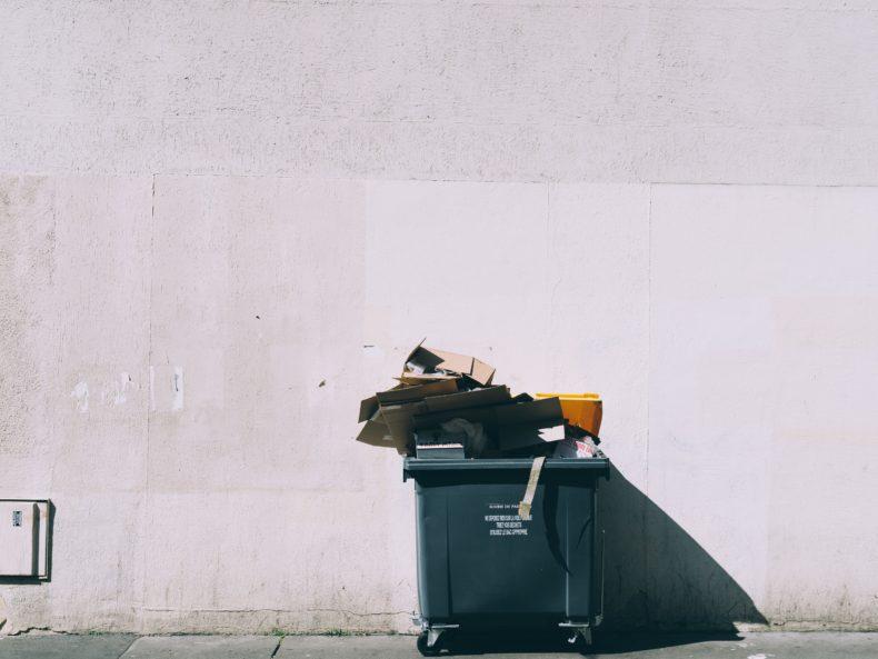 Papiermülltonne, Recycling